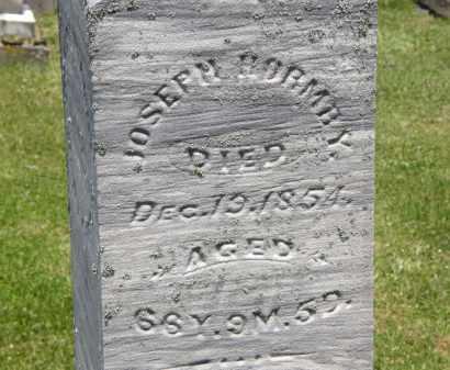 HORMBY, JOSEPH - Marion County, Ohio | JOSEPH HORMBY - Ohio Gravestone Photos
