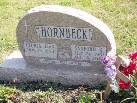 HORNBECK, SANFORD - Marion County, Ohio | SANFORD HORNBECK - Ohio Gravestone Photos