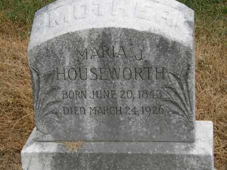 HOUSEWORTH, MARIA J. - Marion County, Ohio | MARIA J. HOUSEWORTH - Ohio Gravestone Photos