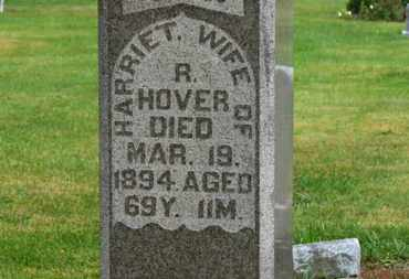 HOVER, HARRIET - Marion County, Ohio | HARRIET HOVER - Ohio Gravestone Photos