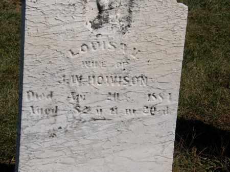HOWISON, J. W. - Marion County, Ohio | J. W. HOWISON - Ohio Gravestone Photos