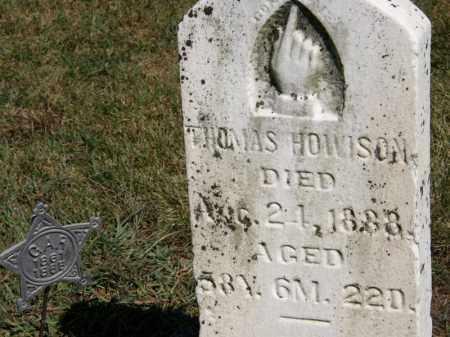 HOWISON, THOMAS - Marion County, Ohio   THOMAS HOWISON - Ohio Gravestone Photos