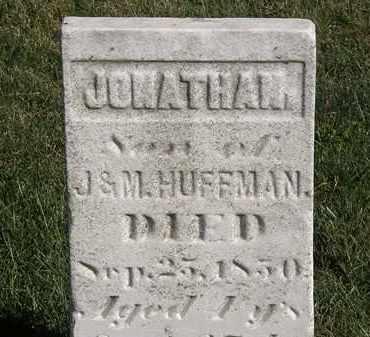 HUFFMAN, JONATHAN - Marion County, Ohio | JONATHAN HUFFMAN - Ohio Gravestone Photos