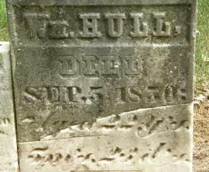 HULL, WM. - Marion County, Ohio | WM. HULL - Ohio Gravestone Photos