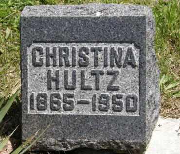 HULTZ, CHRISTINA - Marion County, Ohio | CHRISTINA HULTZ - Ohio Gravestone Photos