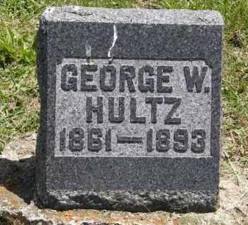 HULTZ, GEORGE W. - Marion County, Ohio | GEORGE W. HULTZ - Ohio Gravestone Photos