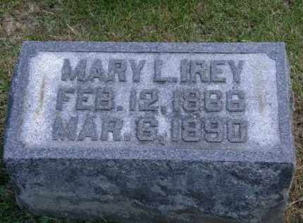 IREY, MARY L. - Marion County, Ohio | MARY L. IREY - Ohio Gravestone Photos