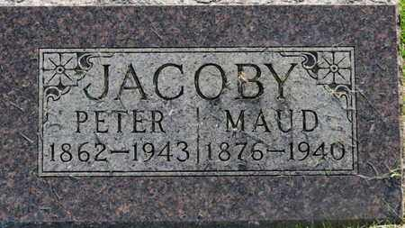 JACOBY, MAUD - Marion County, Ohio | MAUD JACOBY - Ohio Gravestone Photos