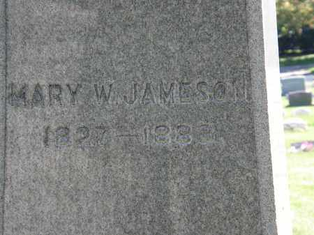 JAMESON, MARY W. - Marion County, Ohio | MARY W. JAMESON - Ohio Gravestone Photos
