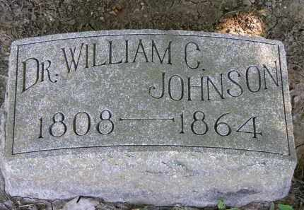 JOHNSON, DR. WILLIAM C. - Marion County, Ohio | DR. WILLIAM C. JOHNSON - Ohio Gravestone Photos