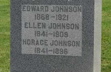 JOHNSON, EDWARD - Marion County, Ohio | EDWARD JOHNSON - Ohio Gravestone Photos