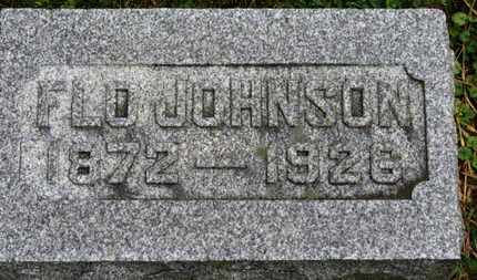 JOHNSON, FLO - Marion County, Ohio | FLO JOHNSON - Ohio Gravestone Photos