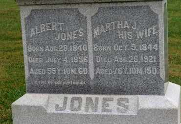 JONES, ALBERT - Marion County, Ohio | ALBERT JONES - Ohio Gravestone Photos