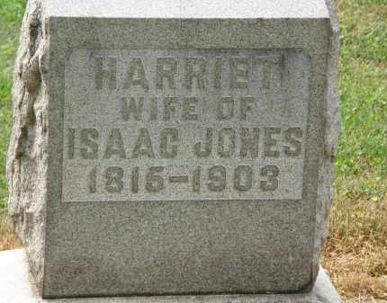 JONES, HARRIET - Marion County, Ohio | HARRIET JONES - Ohio Gravestone Photos