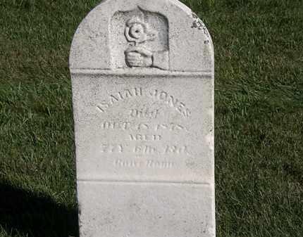 JONES, ISAIAH - Marion County, Ohio   ISAIAH JONES - Ohio Gravestone Photos