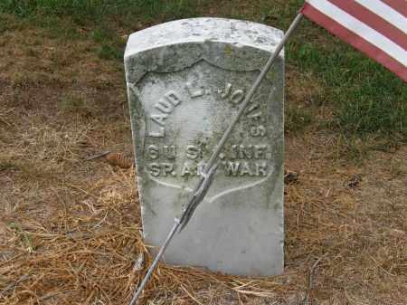 JONES, LAUD L. - Marion County, Ohio | LAUD L. JONES - Ohio Gravestone Photos
