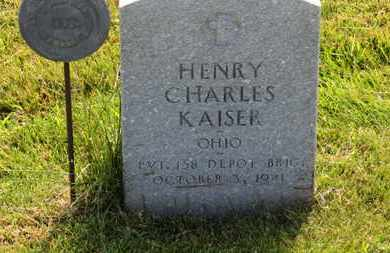 KAISER, HENRY CHARLES - Marion County, Ohio | HENRY CHARLES KAISER - Ohio Gravestone Photos