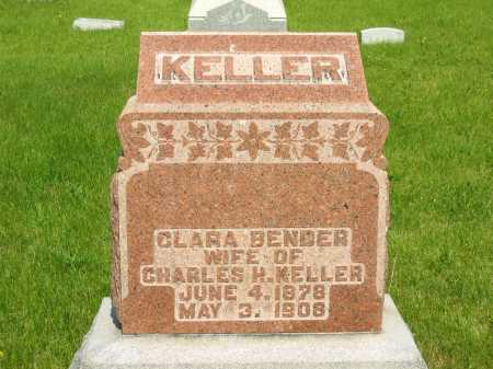 BENDER KELLER, CLARA - Marion County, Ohio | CLARA BENDER KELLER - Ohio Gravestone Photos