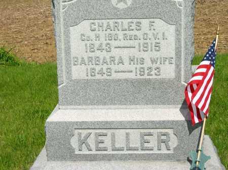 KELLER, CHARLES F. - Marion County, Ohio | CHARLES F. KELLER - Ohio Gravestone Photos