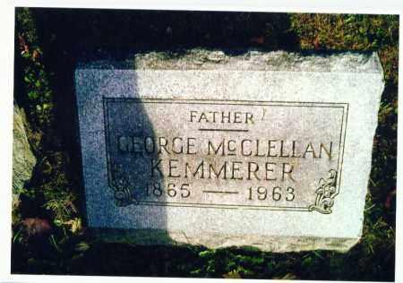 KEMMERER, GEORGE - Marion County, Ohio | GEORGE KEMMERER - Ohio Gravestone Photos