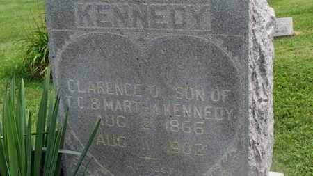 KENNEDY, CLARENCE O. - Marion County, Ohio | CLARENCE O. KENNEDY - Ohio Gravestone Photos