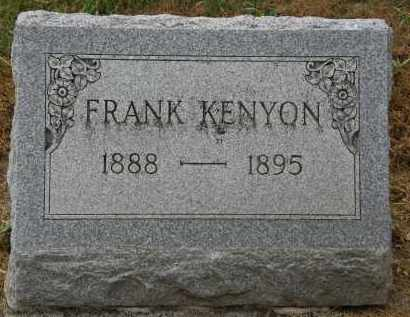 KENYON, FRANK - Marion County, Ohio | FRANK KENYON - Ohio Gravestone Photos