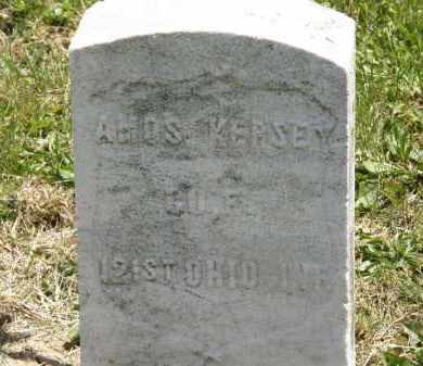 KERSEY, AMOS - Marion County, Ohio | AMOS KERSEY - Ohio Gravestone Photos