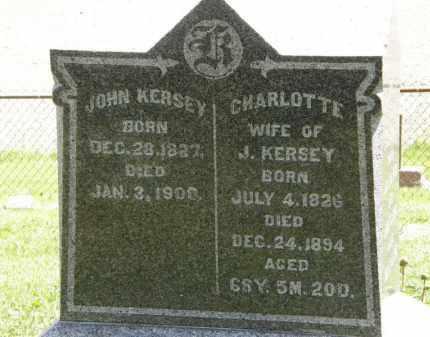 KERSEY, CHARLOTTE - Marion County, Ohio | CHARLOTTE KERSEY - Ohio Gravestone Photos