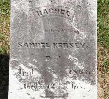KERSEY, RACHEL - Marion County, Ohio | RACHEL KERSEY - Ohio Gravestone Photos