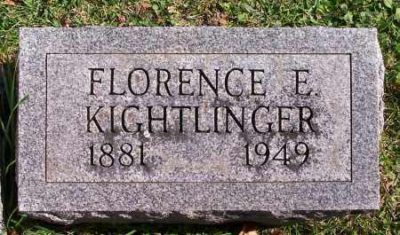 KIGHTLINGER, FLORENCE - Marion County, Ohio | FLORENCE KIGHTLINGER - Ohio Gravestone Photos