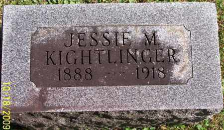KOON KIGHTLINGER, JESSIE - Marion County, Ohio | JESSIE KOON KIGHTLINGER - Ohio Gravestone Photos