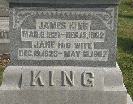 KING, JANE - Marion County, Ohio | JANE KING - Ohio Gravestone Photos