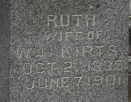 KIRTS, RUTH - Marion County, Ohio | RUTH KIRTS - Ohio Gravestone Photos