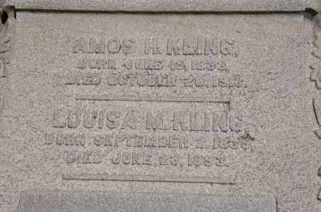 KLING, LOUISA M. - Marion County, Ohio | LOUISA M. KLING - Ohio Gravestone Photos