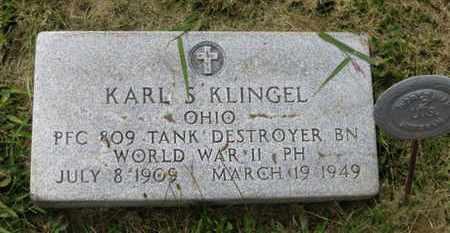 KLINGEL, KARL S. - Marion County, Ohio | KARL S. KLINGEL - Ohio Gravestone Photos