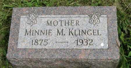 KLINGEL, MINNIE M. - Marion County, Ohio | MINNIE M. KLINGEL - Ohio Gravestone Photos