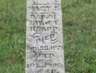 KNAPP, MARY E. - Marion County, Ohio | MARY E. KNAPP - Ohio Gravestone Photos
