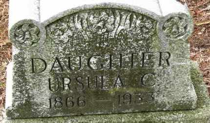 KONKLE, URSULA C. - Marion County, Ohio | URSULA C. KONKLE - Ohio Gravestone Photos