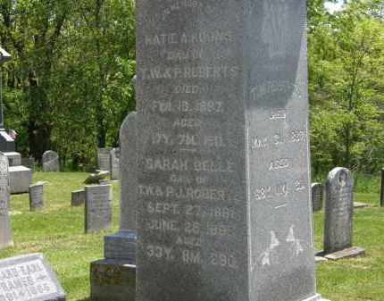 ROBERTS, SARAH BELLE - Marion County, Ohio | SARAH BELLE ROBERTS - Ohio Gravestone Photos