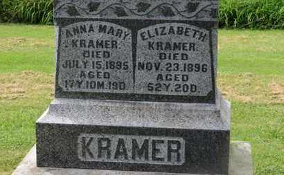 KRAMER, ANNA MARY - Marion County, Ohio | ANNA MARY KRAMER - Ohio Gravestone Photos