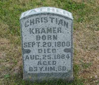 KRAMER, CHRISTIAN - Marion County, Ohio | CHRISTIAN KRAMER - Ohio Gravestone Photos