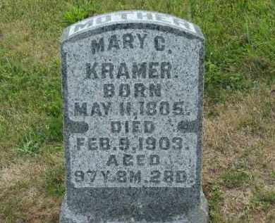 KRAMER, MARY C. - Marion County, Ohio | MARY C. KRAMER - Ohio Gravestone Photos