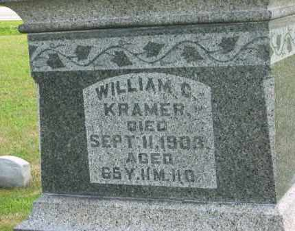 KRAMER, WILLIAM C. - Marion County, Ohio | WILLIAM C. KRAMER - Ohio Gravestone Photos