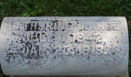 LANCE, CATHERINE - Marion County, Ohio | CATHERINE LANCE - Ohio Gravestone Photos