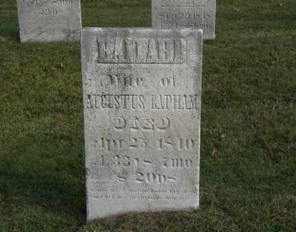 LAPHAM, AUGUSTUS - Marion County, Ohio | AUGUSTUS LAPHAM - Ohio Gravestone Photos