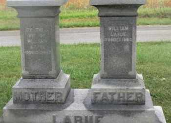 LARUE, WILLIAM - Marion County, Ohio | WILLIAM LARUE - Ohio Gravestone Photos