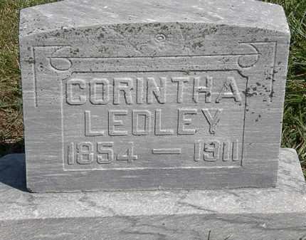 LEDLEY, CORINTHA - Marion County, Ohio | CORINTHA LEDLEY - Ohio Gravestone Photos