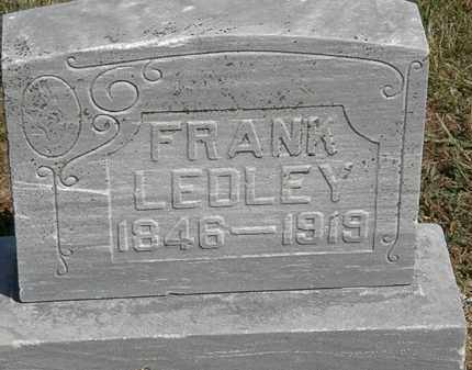 LEDLEY, FRANK - Marion County, Ohio | FRANK LEDLEY - Ohio Gravestone Photos