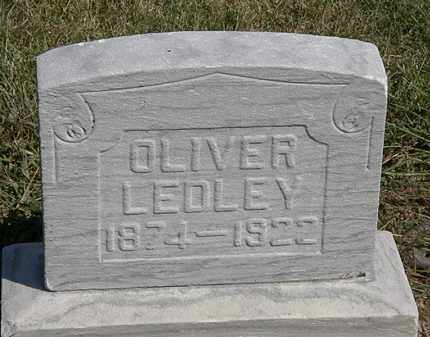 LEDLEY, OLIVER - Marion County, Ohio | OLIVER LEDLEY - Ohio Gravestone Photos