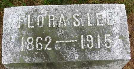 LEE, FLORA S. - Marion County, Ohio   FLORA S. LEE - Ohio Gravestone Photos